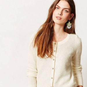 Anthropologie Epoca Cardigan Petite Sweater Top